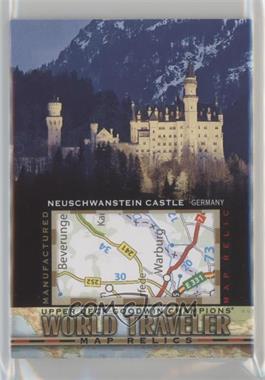 2017 Upper Deck Goodwin Champions - World Traveler Map Relics #WT-29 - Neuschwanstein Castle, Germany