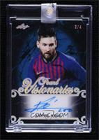 Lionel Messi [Uncirculated] #/4