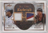 Ken Griffey Jr., Allen Iverson /20