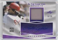 Pete Rose #/15