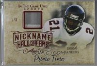 Deion Sanders [Noted] #/3