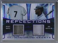 Mickey Mantle, Ken Griffey Jr. /9