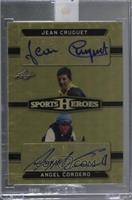 Jean Cruguet, Angel Cordero [Uncirculated] #/1