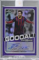 Lionel Messi [Uncirculated] #/1