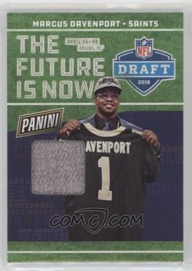 2018 Panini National Convention - NFL Draft Materials #DP-3 - Marcus Davenport