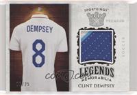 Clint Dempsey #/25