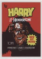 1987 Harry and the Hendersons #/205