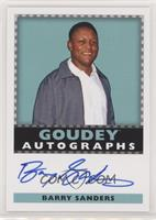 Goudey Autographs - Barry Sanders