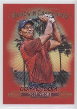 2018 Upper Deck Goodwin Champions - [Base] - Red #20 - Photo Variations - Week 4 - Tiger Woods