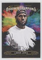 Splash of Color - LeBron James