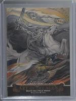 William Blake - Death on a Pale Horse #1/1