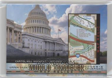 2018 Upper Deck Goodwin Champions - World Traveler Map Relics #WT-65 - Capitol Hill, United States