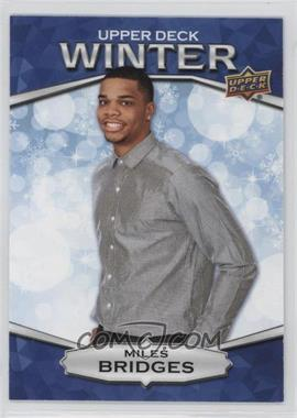 2018 Upper Deck Singles Day Winter - [Base] - Scratched #W-10 - Miles Bridges