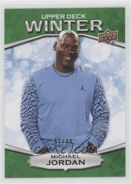 2018 Upper Deck Singles Day Winter - [Base] - Winter Green #W-1 - Michael Jordan /99