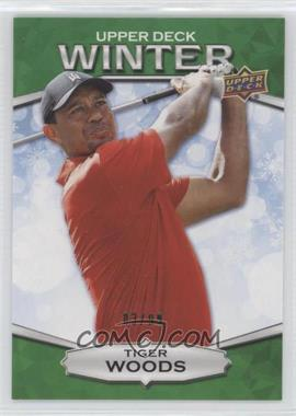 2018 Upper Deck Singles Day Winter - [Base] - Winter Green #W-7 - Tiger Woods /99