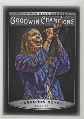 2019 Goodwin Champions - [Base] - Photo Variations Black #15 - Week 2 - Brandon Boyd