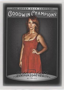 2019 Goodwin Champions - [Base] - Photo Variations Black #21 - Week 2 - Jennifer Love Hewitt