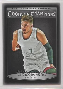 2019 Goodwin Champions - [Base] - Photo Variations Black #30 - Week 3 - Luka Doncic