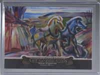 Edvard Munch - Spring Ploughing (Artist: Ken Joudrey) #/1