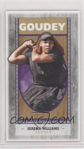 2019 Goodwin Champions - Goudey - Wood Mini Black Lumberjack Back #G20 - Serena Williams /8