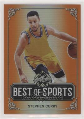 2019 Leaf Best of Sports - [Base] - Orange #M-11 - Stephen Curry /7