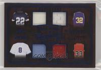Emmitt Smith, Andre Dawson, Karl Malone, Scottie Pippen #/35