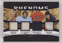 Larry Bird, Earl Campbell, Mike Bossy, Eddie Murray #/30
