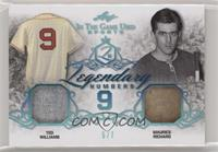 Ted Williams, Maurice Richard #/7