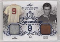 Ted Williams, Maurice Richard #/9
