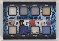 Eddie Mathews, Yogi Berra, Willie Stargell, Ernie Banks, Frank Robinson, Mickey…