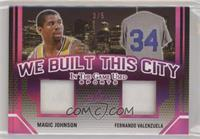 Magic Johnson, Fernando Valenzuela #/5