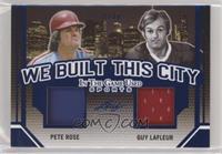 Pete Rose, Guy Lafleur #/30