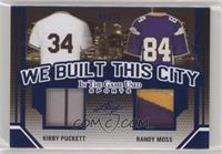 Kirby Puckett, Randy Moss /30