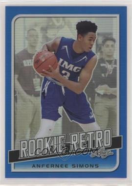 2019 Leaf Rookie Retro - [Base] - Blue #RR-01 - Anfernee Simons /35