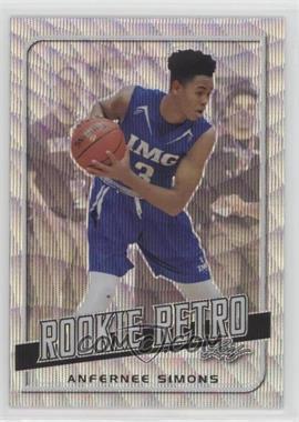 2019 Leaf Rookie Retro - [Base] - Silver Wave #RR-01 - Anfernee Simons
