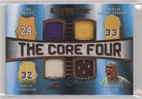 Kobe Bryant, Kareem Abdul-Jabbar, Magic Johnson, Shaquille O'Neal #/25