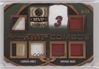 LeBron James, Dwyane Wade #/25