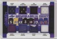 Jason Kidd, John Stockton, Tim Hardaway, Mark Jackson, Magic Johnson, Allen Ive…