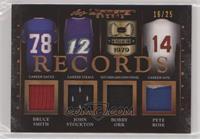 Bruce Smith, John Stockton, Bobby Orr, Pete Rose /25