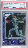 Christian Yelich [PSA 10 GEM MT] #/50