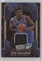 Zion Williamson [EX to NM] #/25