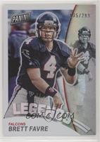 Brett Favre (Falcons) #/299