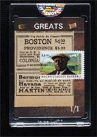 Rube Foster [Uncirculated] #/1