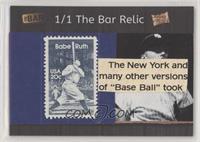 Babe Ruth #/1