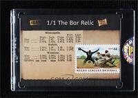 Negro League Baseball [Uncirculated] #/1