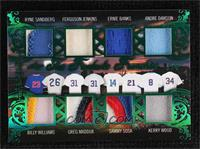 Sammy Sosa, Ernie Banks, Andre Dawson, Kerry Wood, Ryne Sandberg, Billy William…