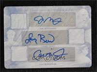Joe Montana, Larry Bird, Cal Ripken Jr. #/1
