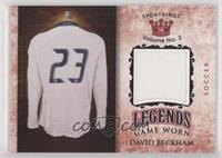 David Beckham #/50
