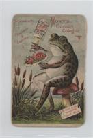 Hoyt's German Cologne (Frog) [Poor]