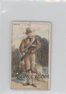1909 Recruit Military Series Stand-Ups - Tobacco T81 #INUS - Infantry, U.S. Army